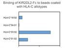 Recombinant human KIR2DL2-Fc/CD-158b1 Chimera from R&D Systems