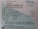 Erba Manheim Creatinine Assay Kit