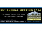 99th ESA Annual Meeting