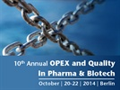 10th Annual OPEX and Quality in Pharma and Biotech