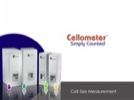 Watch Video: Cellometer® Automated Cell Counter Feature: Cell Size Measurement Streaming Video