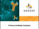 Abgent: The Primary Antibody Company Audio Showcase