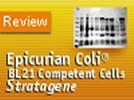 Stratagene's BL21(DE3) Epicurian Coli Competent Cells
