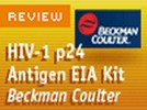Beckman Coulter's HIV-1 p24 Antigen EIA kit