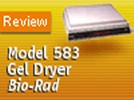 Bio-Rad's Model 583 Gel Dryer