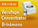 The Eppendorf Vacuum Concentrator Model 5301 from Brinkmann