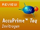 Invitrogen's AccuPrime™ Taq DNA Polymerase