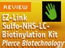 The EZ-Link™ Sulfo-NHS-LC-Biotinylation Kit from Pierce Biotechnology