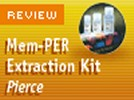 Pierce Biotechnology's Mem-PER Eurkayotic Membrane Protein Extraction Reagent Kit