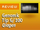 Qiagen's Genomic Tip G/100