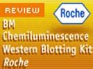 Roche's BM Chemiluminescence Western Blotting Kit