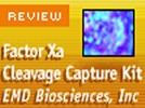 Novagen's Factor Xa Cleavage Capture Kit