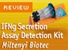 Miltenyi Biotec's  IFNγ Secretion Assay Detection Kit (PE)