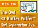 Owl Buffer Puffer Horizontal Electrophoresis System with Built-in Recirculation