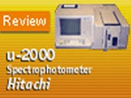 Hitachi's U-2000 Double-Beam UV/Vis Spectrophotometer