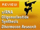 siRNA Oligonucleotide Synthesis at Dharmacon Research