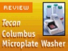 The TECAN Columbus Microplate Washer