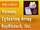 RayBiotech's Cytokine Antibody Array