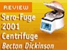 Becton Dickinson's Sero-Fuge 2001 Centrifuge