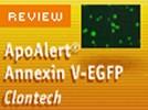 Clontech's ApoAlert® Annexin V-EGFP Apoptosis Kit