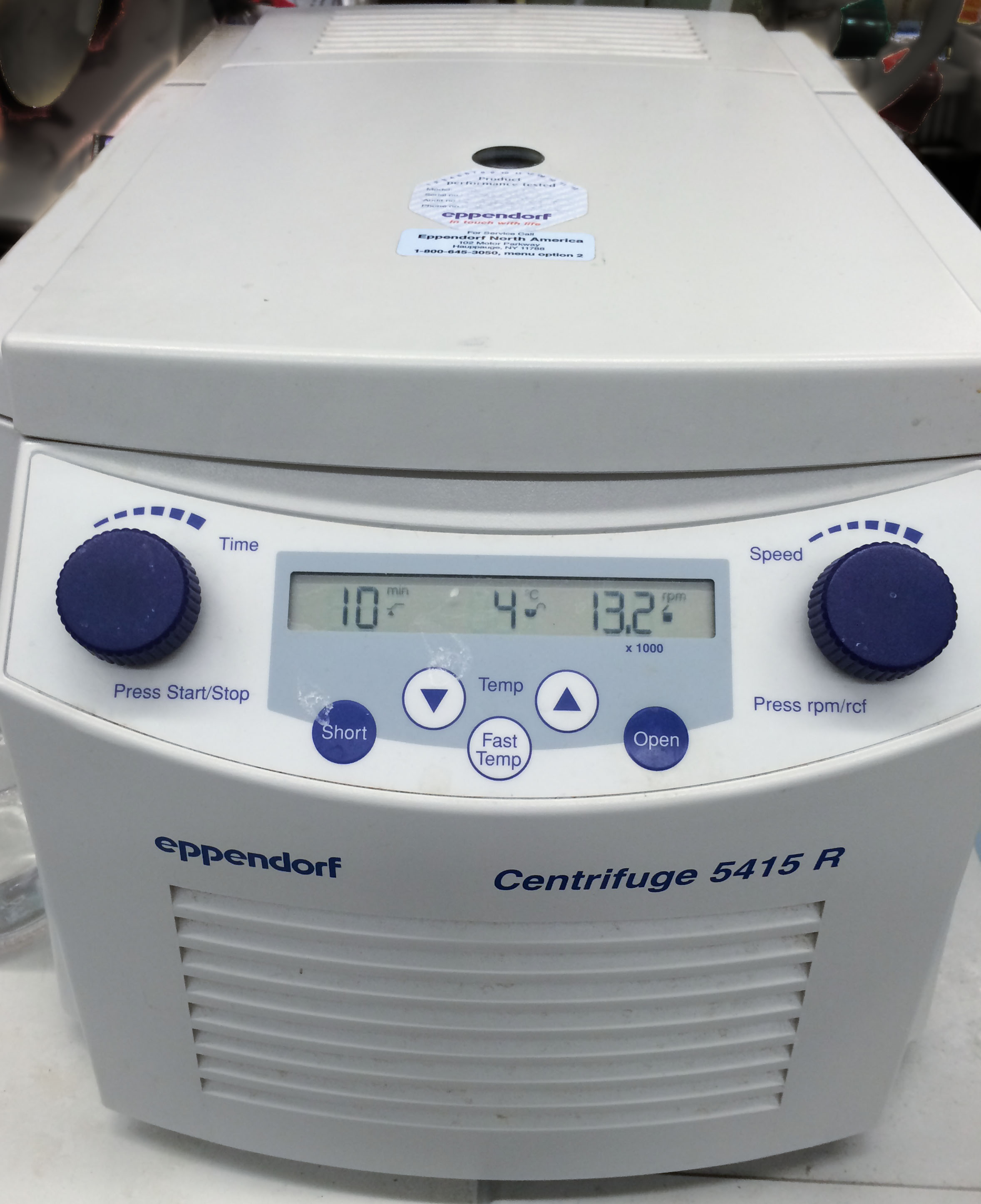 Great Table Top Centrifuge For Molecular Biology
