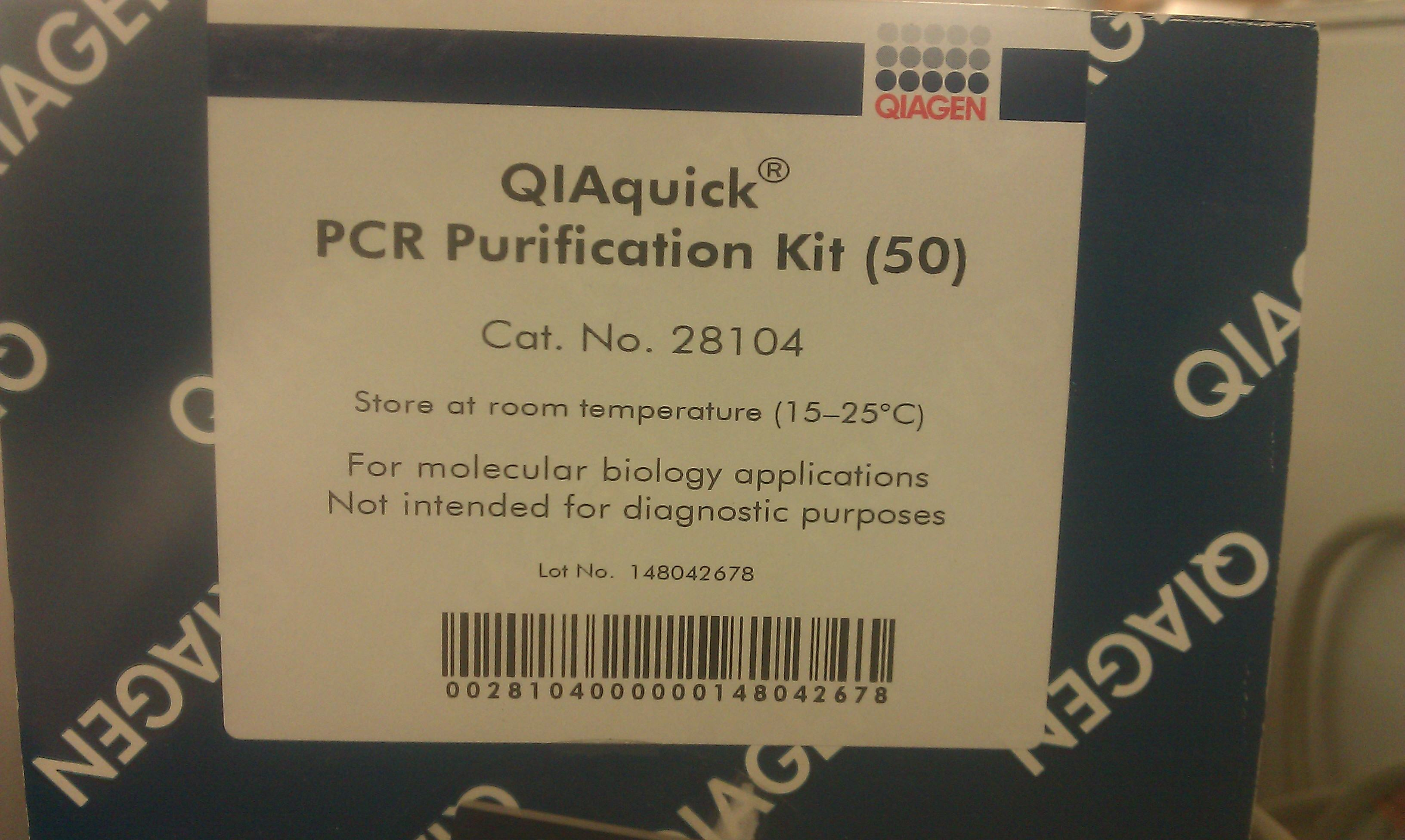 qiaquick pcr purification kit manual