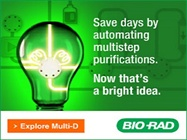 Save days by automating multistep purifications. Now that's a bright idea
