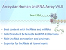 Human LncRNA Expression Array  V4.0