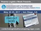 Cold Chain DP & Temperature Management Logistics Global Forum Spring