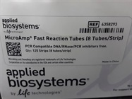 8-Tube Strips for PCR and Real Time-PCR