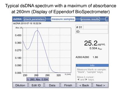 Factors affecting spectrophotometer reading
