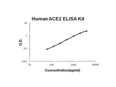 ACE2 ELISA Kit (Human) (OKBB00649)