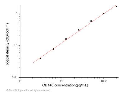 Human CD146 / MCAM / MUC18 ELISA Pair Set