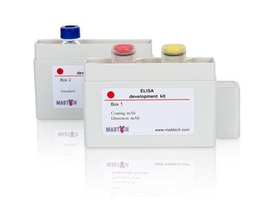 Human IgM ELISA development kit (ALP)