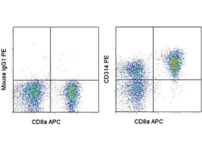 CD314 (NKG2D) Monoclonal Antibody (11D5F4), PE, eBioscience™