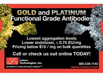 Gold and Platinum Antibodies