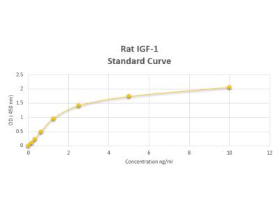 Rat IGF-I ELISA Kit (Colorimetric)