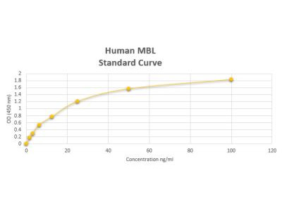 Human MBL ELISA Kit (Colorimetric)