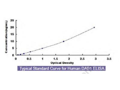Human Disabled Homolog 1 (DAB1) ELISA Kit