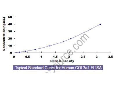 Human Collagen Type III Alpha 1 (COL3a1) ELISA Kit