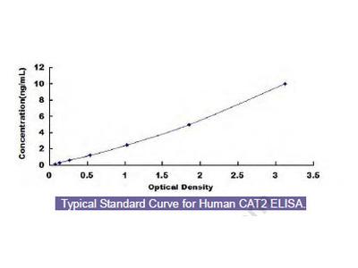 Human Cationic Amino Acid Transporter 2 (CAT2) ELISA Kit