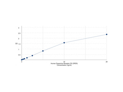 Human Dopamine Receptor D5 (DRD5) ELISA Kit