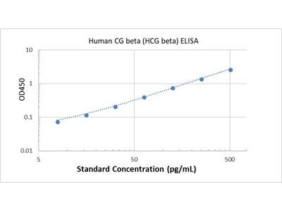 Human CG beta (HCG beta) ELISA
