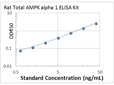 Rat Total AMPK alpha 1 ELISA Kit