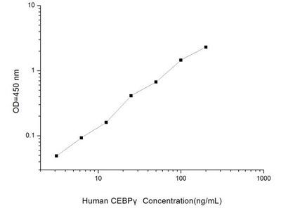 CEBPG ELISA Kit (Human) (OKEI00147)