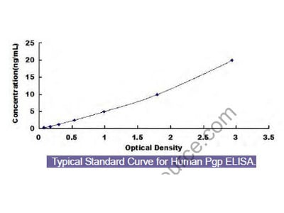 Human Permeability Glycoprotein (Pgp) ELISA Kit