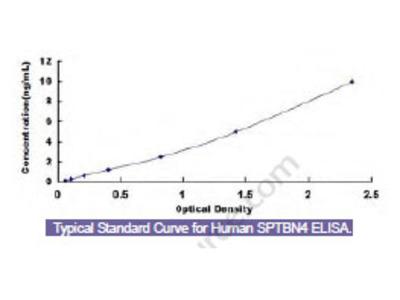 Human Spectrin Beta, Non Erythrocytic 4 (SPTbN4) ELISA Kit