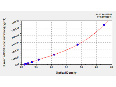 Human Soluble Cluster of Differentiation 80, sCD80 ELISA Kit