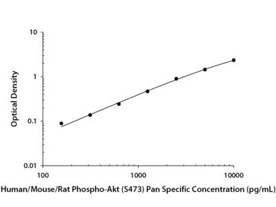 Phospho-Akt (S473) Pan Specific ELISA