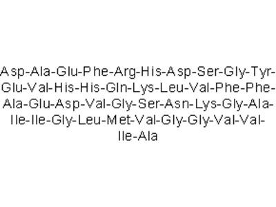 Amyloid b-peptide (1-42) (human)